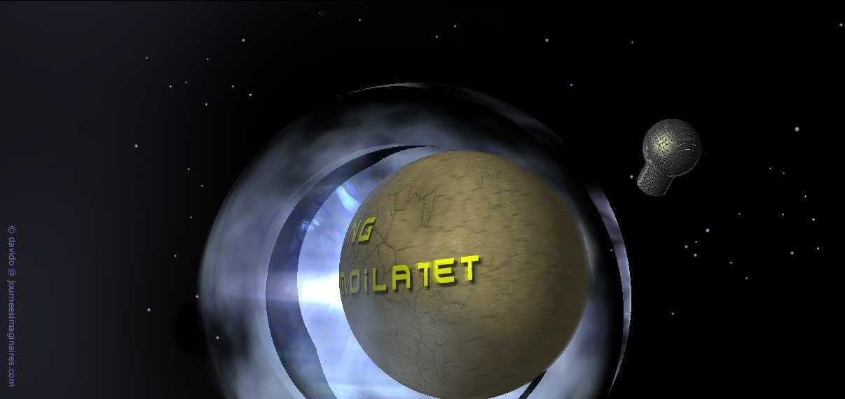 la planète Degling Moilatet © et Ppause, son hôpital satellite